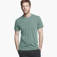 James Perse Short Sleeve Crew Neck Reed Pigment, $60
