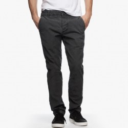 James Perse Slim Stretch Chino Carbon Pigment, $245