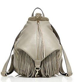 Rebecca Minkoff Julian Fringe Leather Backpack, $395