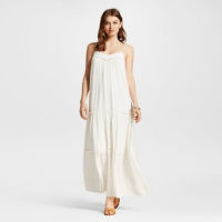Xhilaration Maxi Dress White, $29.99