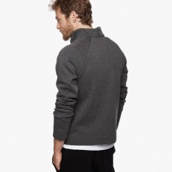 Yosemite Jersey Jacket Back Heather Charcoal, $295