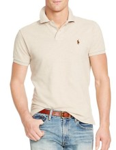 Ralph Lauren Polo Classic Fit Mesh Dune Tan, $85