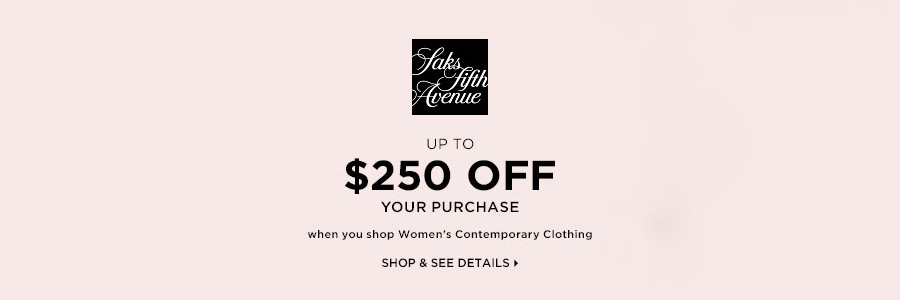 Womens Contemporary Clothing at Saks