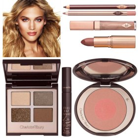 Charlotte Tilbury Golden Goddess Set, $230