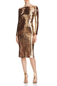 Dress the Population Sequin Midi Dress, $278