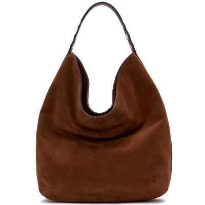 Etienne Aigner Normandy Hobo Saddle Suede, $275