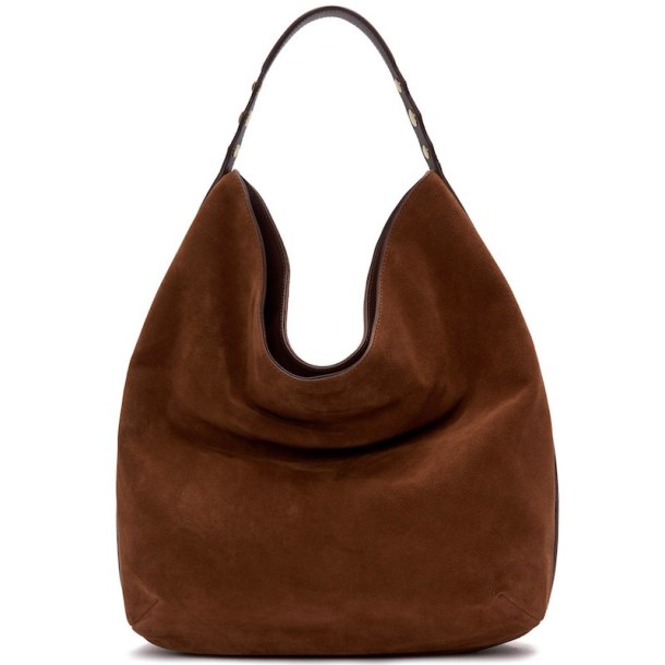 Etienne Aigner New Arrivals Normandy Hobo Saddle Suede, $275