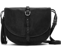 Etienne Aigner Charlotte Saddle Bag Black, $345