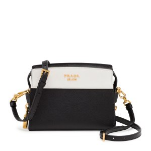 Prada Esplanade Mini Crossbody White, $1,480
