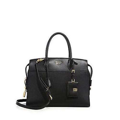 Prada Small Esplanade Leather Tote, $2,280