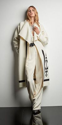 Ralph Lauren Collection Sherman Coat, $4,690; Francoise Shirt, $1,190; Harrison Pant $1,450