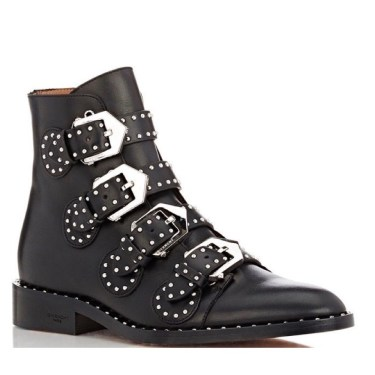 Givenchy Studded Buckle Ankle Boots $1,395