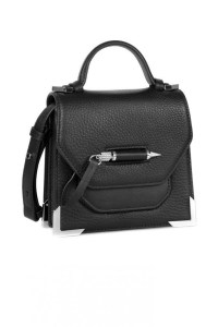 Mackage Rubie Structured Shoulder Bag Black, $375