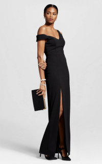 ABS Collection Off Shoulder Gown $223.99