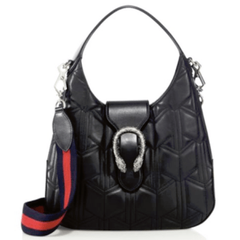 Gucci Dionysus Quilted Hobo Black, $1,980