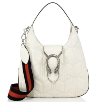 Gucci Dionysus Quilted Hobo White, $1,980