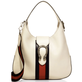 Gucci Dionysus Stripe Hobo Cream, $1,980