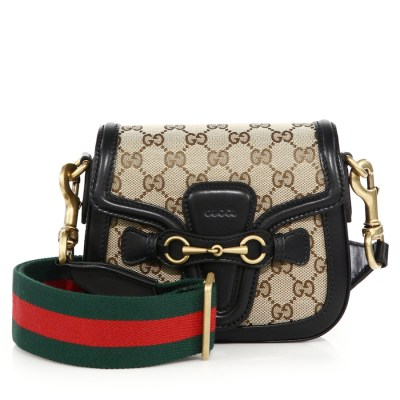 Gucci Lady Web Small GG Canvas Shoulder Bag $1,650