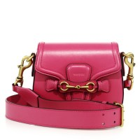 Gucci Lady Web Small Leather Shoulder Bag Rose $2,200