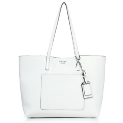 Prada City Leather Tote White, $1,390