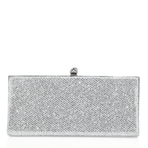 Jimmy Choo Celeste Oversized Glitter Clutch $975