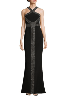 Parker Black Mila Halter Dress $528