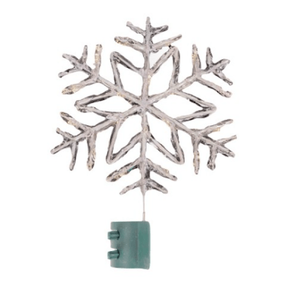 Wondershop Lit LED Snowflake Topper $35
