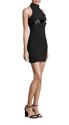 Brandon Maxwell Mod Mini Dress Side $1,395