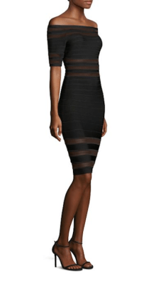 Herve Leger Off The Shoulder Dress Side $1,290