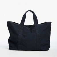 James Perse Large Canvas Tote French Navy, $325