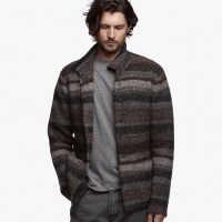 James Perse Tweed Knit Sweater, $525