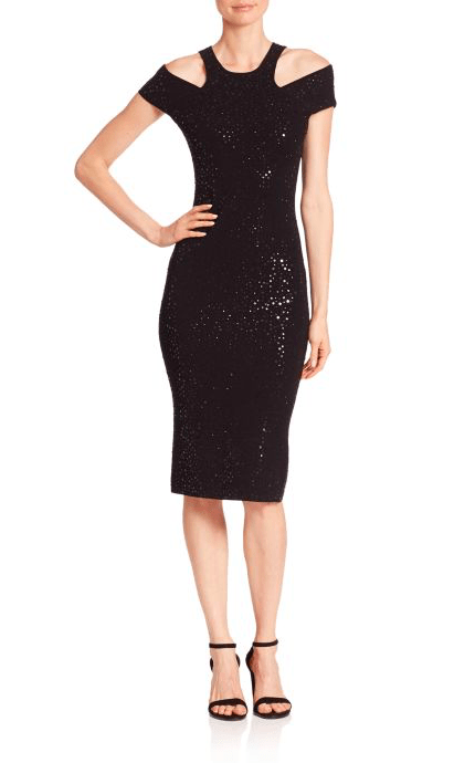 Dresses Evolve Stay the Same Michael Kors Collection Paillette Racer Sheath Dress $1,895