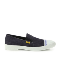 Prada Denim Slip-On Sneakers Side $530