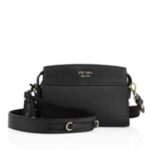 Prada Esplanade Leather Crossbody Nero $1,600