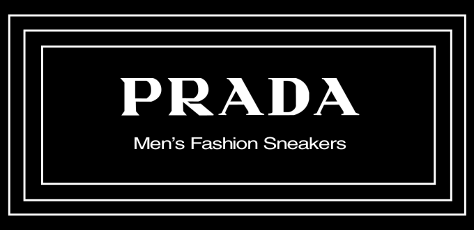 Prada Men's Fashion Sneakers