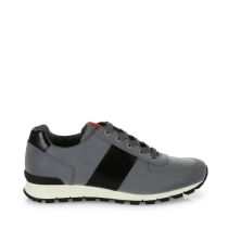 Prada Reflective Leather & Nylon Running Sneakers Side $650