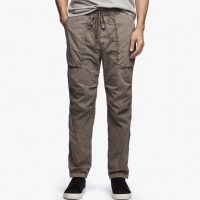 James Perse Stretch Poplin Utility Pant Amo Pigment $245