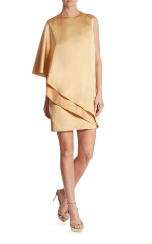 Ralph Lauren Collection Kayla Asymmetric Dress $1,990