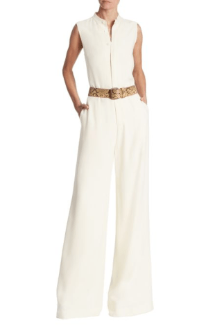 Ralph Lauren Collection Theodora Sleeveless Jumpsuit $1,690