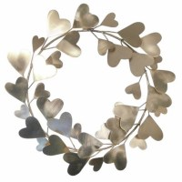 Threshold Valentine's Day Wreath Gold $14.99