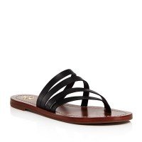 Tory Burch Patos Thong Sandal Black $195