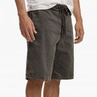 James Perse Compact Cotton Short Hunter Pigment Side $185