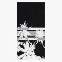 James Perse Abstract Palm Tree Beach Towel $250