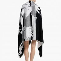 James Perse Abstract Palm Tree Beach Towel Back $250