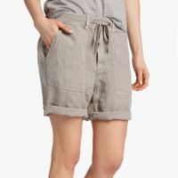 James Perse Linen Surplus Short Side Solitaire Pigment $165