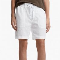 James Perse Linen Surplus Short White $165