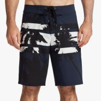 James Perse Y:Osemite Printed Palm Boardshort Deep $345