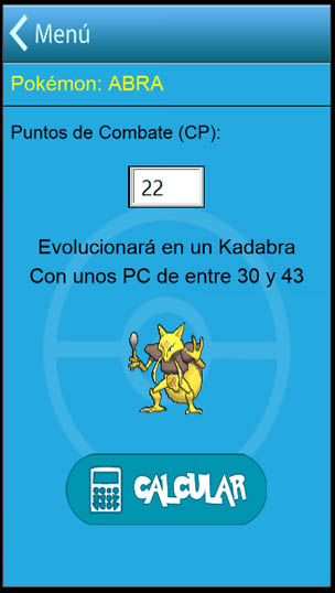 calculadora cp pokemon go