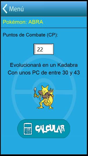calculadora cp pokemon go