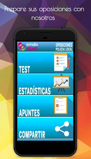 app de test para oposiciones a policia local